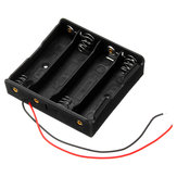 10pcs Plastic Battery Storage Case Box Battery Holder For 4 x 18650 Battery