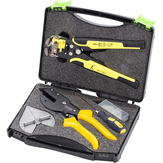 Paron® JX-C1813 Universal Angular Cutter Mitre Shear Tesoura Terminais Fio Stripper Tools Set