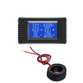 PZEM-022 AC Digital Display Power Monitor Meter Voltmeter Ammeter Frequency Current Voltage Facto