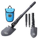 Espada multifuncional Dohiker Jardín de emergencia de pala de supervivencia cámping herramientas