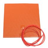 12V 200W 200mmx200mm waterdicht flexibel siliconen verwarmd bed verwarmingsmatras voor 3D-printer