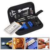 399Pcs Watch Repair Tools Kit Watchmaker Back Case Remover Opener Pin Spring Bar