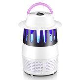 Mute Electric Mosquito Killer USB Powered UV LED Licht Fotokatalysator Fliegenwanze Mückenverteiler Einatmen Mückenschutz Insektenfalle