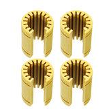 Machifit 4pcs LM16UUOP Solide Polymère Linéaire Roulement Pour Outil CNC