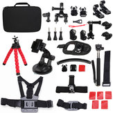 33 In 1 Sportscamera Accessories Kit For Gopro Hero 2 3 4 3 Plus SJcam SJ4000 5000 6000 Xiaomi Yi Sportscamera