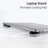 Hagibis 2PCS Magnetic Cooling Pad Desktop Stand Holder for MacBook Laptop Tablet