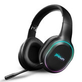 Picun P80S bluetooth 4.1 Gaming Headset LED Lighting Noise Cancelling Wireless Headphone With Mic
