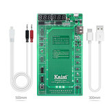 Kaisi 9208 Phone Battery Activation Board Plate Charging USB Cable Jig for iPhone 4 -8X VIVO Huawei Samsung Circuit Test