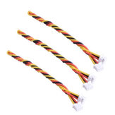 2PCS 3pin FPV 15cm silicone cable for RunCam FPV Camera