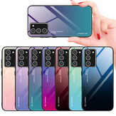 Bakeey Gradient Color Tempered Glass Shockproof Scratch Resistant Protective Case for Samsung Galaxy Note 20 / Galaxy Note20 5G
