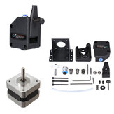 Nema 17 Stepper Motor + BMG Extruder Clone Dual Drive Upgrade Bowden Extruder Kit Untuk Printer 3D filamen 1.75mm