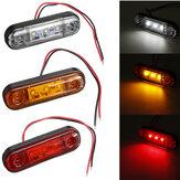 Indicatore di direzione laterale a LED impermeabile per camion con rimorchio 12V 24V