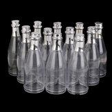 12 स्पष्ट भरण योग्य चमगादड़ की बोतलें कैंडी बक्से शादी की पार्टी एहसान