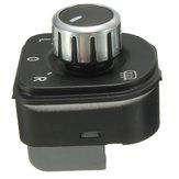 クロームミラーは、ゴルフVW Gti MK5の車のスイッチを調整MK6ジェッタ5ラビットパサートB6