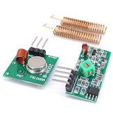10pcs 433MHz Módulo receptor sem fio RF Kit transmissor + 2PCS RF Spring Antena OPEN-SMART para Arduino - produtos que funcionam com autoridade para placas Arduino