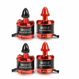 4X Racerstar Racing Edition 2212 BR2212 980KV 2-4S Brushless Motor For 350 380 400 RC Drone FPV Racing