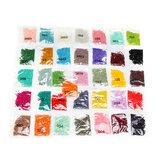 36 Farben DIY Diamantmalerei Runde Fliesen Diamant Stickstein Zubehör
