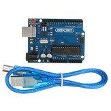 5st UNO R3 ATmega16U2 AVR USB Development Main Board Geekcreit voor Arduino - producten die werken met officiële Arduino-boards
