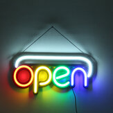 50x25cm OPEN Sign Advertising LED Neon Light Display Cafe Bar Club Store Wall Decor AC110-240V