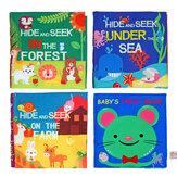 Libros de educación temprana para niños, tela para bebés, aprendizaje temprano, desarrollo de inteligencia, conocimiento, libro de tela, juguetes educativos
