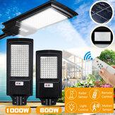 800/1000 Вт LED Солнечная Уличный фонарь PIR Motion Датчик На открытом воздухе Двор Настенный светильник + пульт дистанционного управления