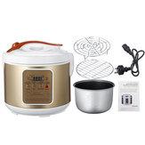 Máquina multifuncional do iogurte do fermentador preto do alho de 220V 90W 5L