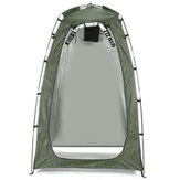 Portable Instant Tent With Zipper Door Camping Shower Toilet Outdoor Dressing Changing Fishing House