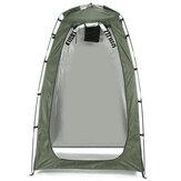 Draagbare Instant Tent Met Rits Deur Camping Douche Toilet Outdoor Dressing Veranderend Vissershuis