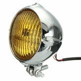 4 Zoll 35W 12V Motorrad Scheinwerfer H4 Amber Light Scheinwerfer für Harley Bobber Chopper