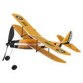 STEM ZT Modèle 18 Pouces STEARMAN En Caoutchouc Bande Modèle Avion Actionné Avion Jouet