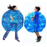 نفخ الجسم الوفير كرات البلاستيكية فقاعة الهواء 90 سنتيمتر الأطفال في الهواء الطلق لعبة كرة القدم