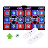 Wired Dancing Mat Pad Computer TV Slimming Blanket with Somatosensory Gamepad a Colored Lights Massage Version