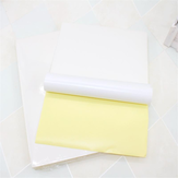 JS JS-A4P 100 Sheets/Lot A4 Adhesive Sticker Printing Paper A4 White Blank Sticker Paper Label Printer Paper