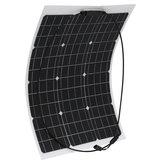 Panneau solaire flexible ETFE monocristallin de 50W 18V pour le bateau à la maison de voiture