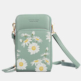 Dames Daisy Clutch Bag Card Bag Phone Bag Crossbody Bag