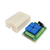 433MHz Универсальный беспроводной Дистанционный Переключатель DC12V 4CH Реле RF Приемник Модуль для Дистанционный Гараж / LED / Home