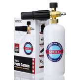 MATCC Adjustable Snow Foam Lance Washer Soap 1L Bottle High Pressure Washer Gun Foam Cannon