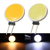 G4 2W 15COB LED Warmwhite / White for Crystal Lamp LED Spot Lightt Light Bulb Lamp AC / DC12V