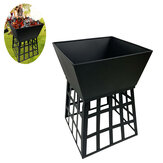 Charcoal Fire Pits Outdoor Camping BBQ Grill Multifunction Barbecue Stove Rack Tool