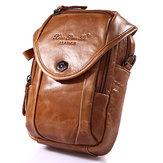 多機能スモールファッションウエストバッグメンズレザーベルト電話バッグシングルショルダーバッグクロスボディバッグ