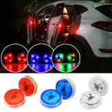 Universal Wireless LED Car Door Opening Warning Light Safety Flash Signal Lamp Anti-collision 3 Color