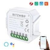 [2 pezzi] BlitzWolf® BW-SS7 Zi-Bee3.0 2300W Smart Light Switch Module 2 Gang Wireless App remoto Control Voice Control Time Schedule Funziona con Amazon Alexa e Google Assistant
