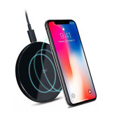 ZMI WTX10 2.5D Glass Surface 10W QI Wireless Charger for iphone X /8/8p for Samsung Note8 S9/S9