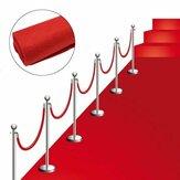 80x300cmRoterTeppichHochzeit Läufer Gang Boden Teppich Hollywood Party Dekorationen