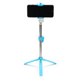Remote Control Foldable Unipod Selfie Stick Portable Handheld Tripod with bluetooth Shutter For Smart Phones