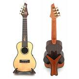 Supporto portatile pieghevole in legno adatto per chitarra ukulele violino mandolino banjo