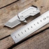 Mini EDC D2 Ocelový skládací nůž Outdoor Survival Tools 10cm kapesní nůž Camping Travel Hunting