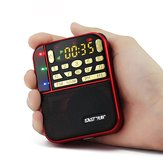 SAST N-500 Portable Mini FM Pocket Stereo Radio With TF/USB-Disk Speaker MP3 Music Player