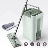 Automatic Spin Mop Dry & Wet 360 ° Roatation Dust Cepat Kering Flat Mop Floor Cleaner