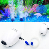 Ultra Silent Aquarium Air Pump Air Compressor Oxygen Airpump Single & Double Outlet Fish Tank Pump